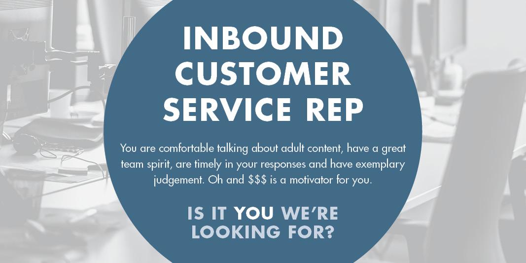 Inbound Customer Service Representative